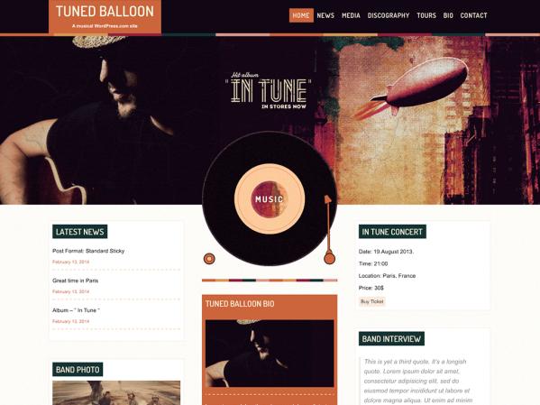 Tuned Balloon by Anariel Design